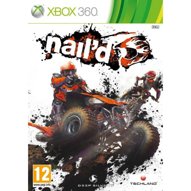 Игра Nail'd (Xbox 360) б/у (rus)