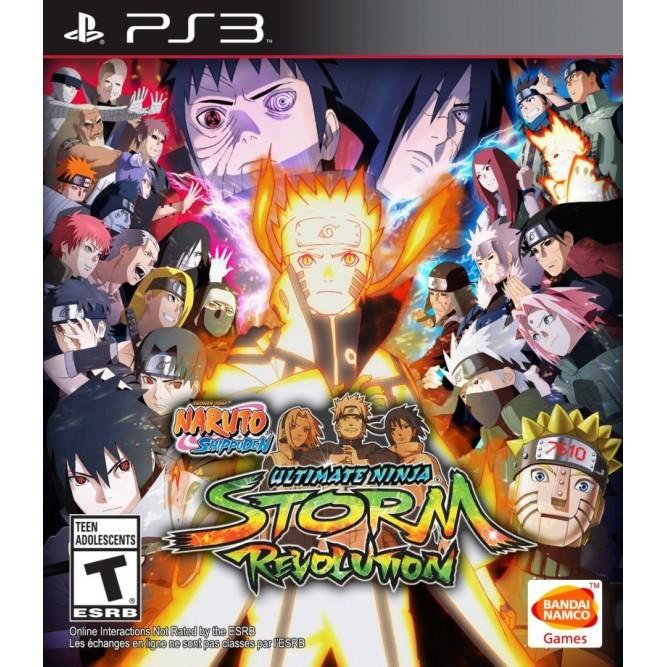 Игра Naruto Shippuden: Ultimate Ninja Storm Revolution (PS3) б/у
