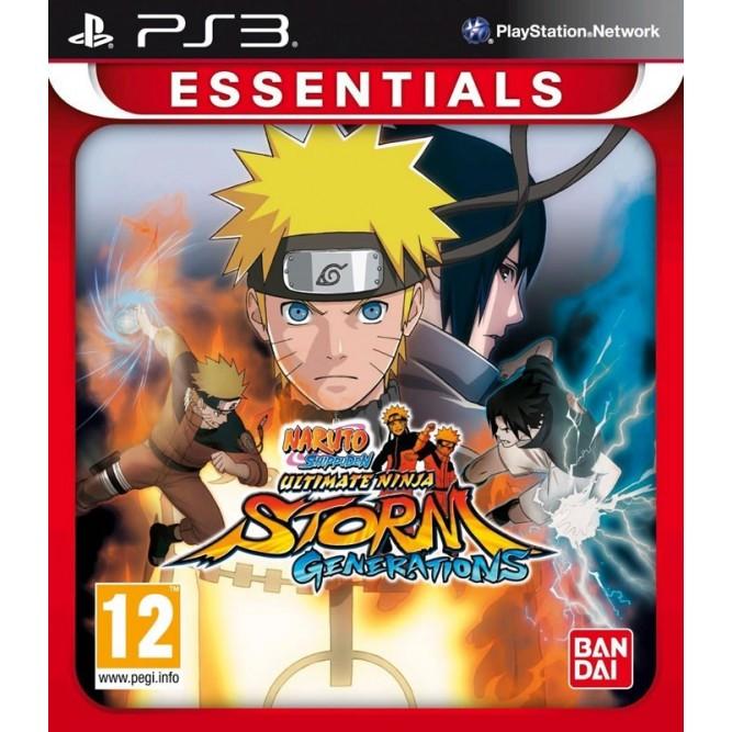 Игра Naruto Shippuden: Ultimate Ninja Storm Generations (PS3) б/у (rus)