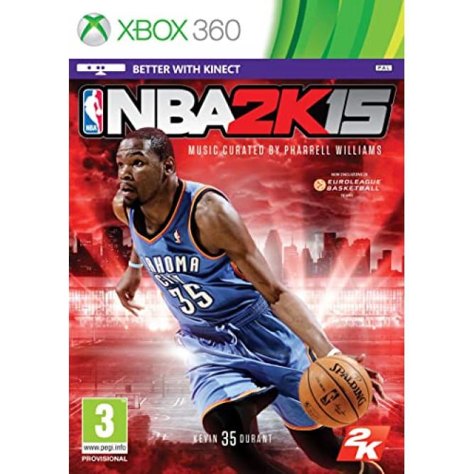 Игра NBA 2K15 (Xbox 360) (eng) б/у