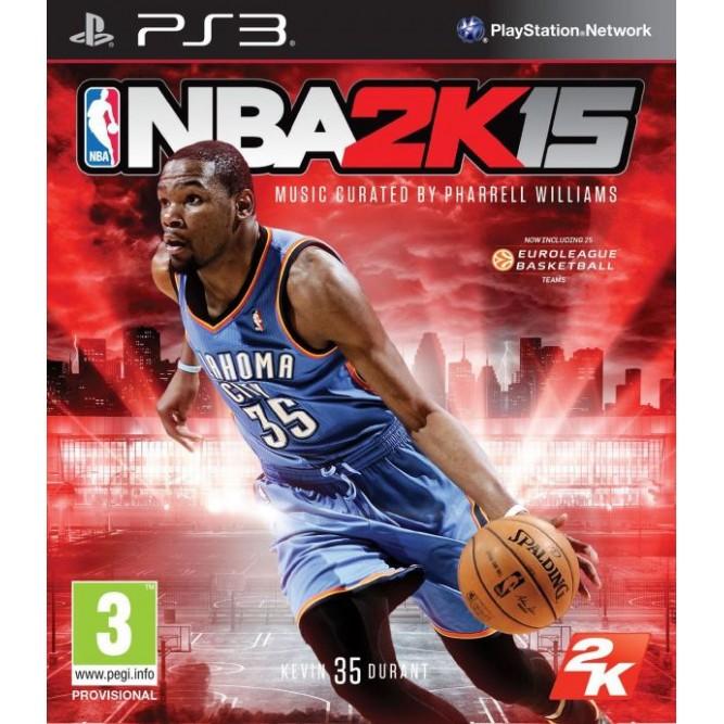 Игра NBA 2K15 (PS3) б/у