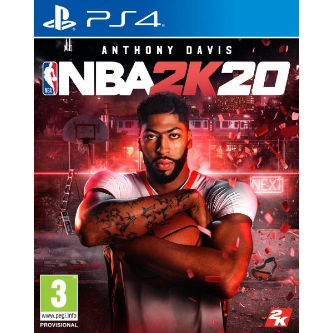 Игра NBA 2K20 (PS4) (eng) б/у