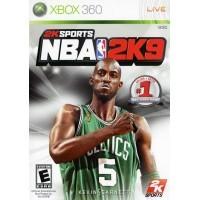 Игра NBA 2K9 (Xbox 360) б/у
