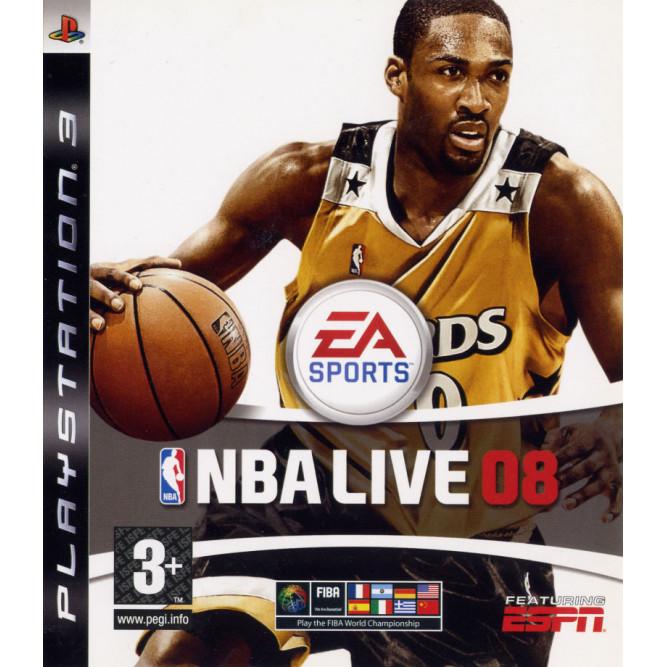 Игра NBA Live 08 (PS3) б/у