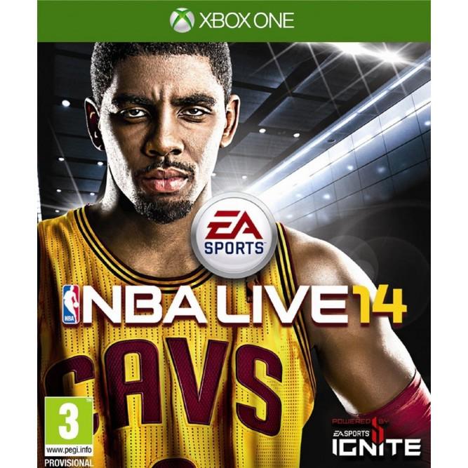 Игра NBA Live 14 (Xbox One) б/у (rus)