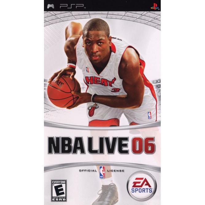 Игра NBA Live 06 (PSP) б/у (eng)
