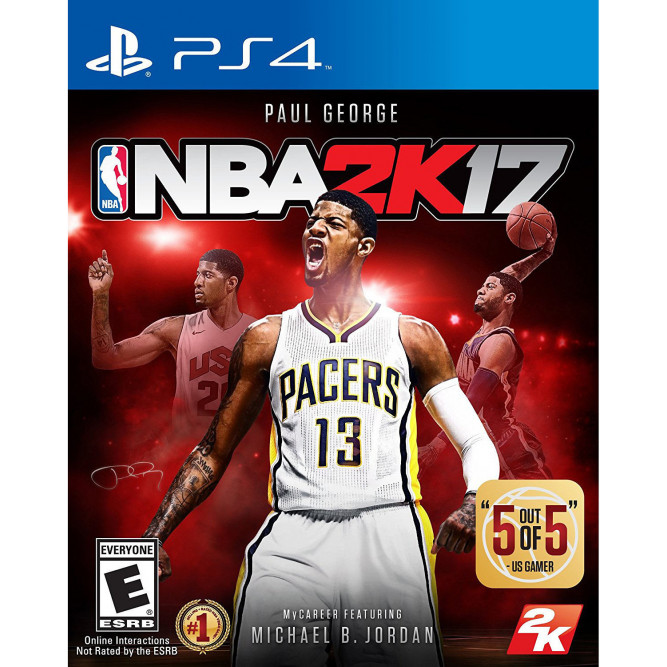 Игра NBA 2K17 (PS4) (eng) б/у