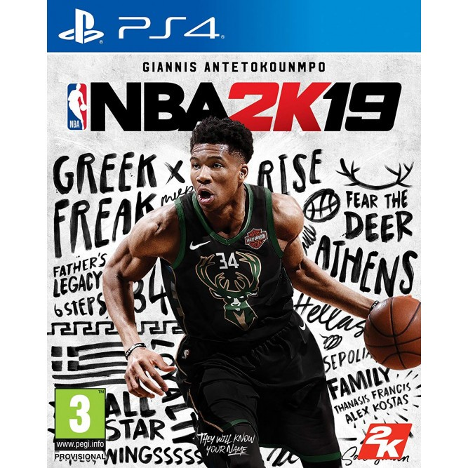 Игра NBA 2K19 (PS4) б/у (eng)