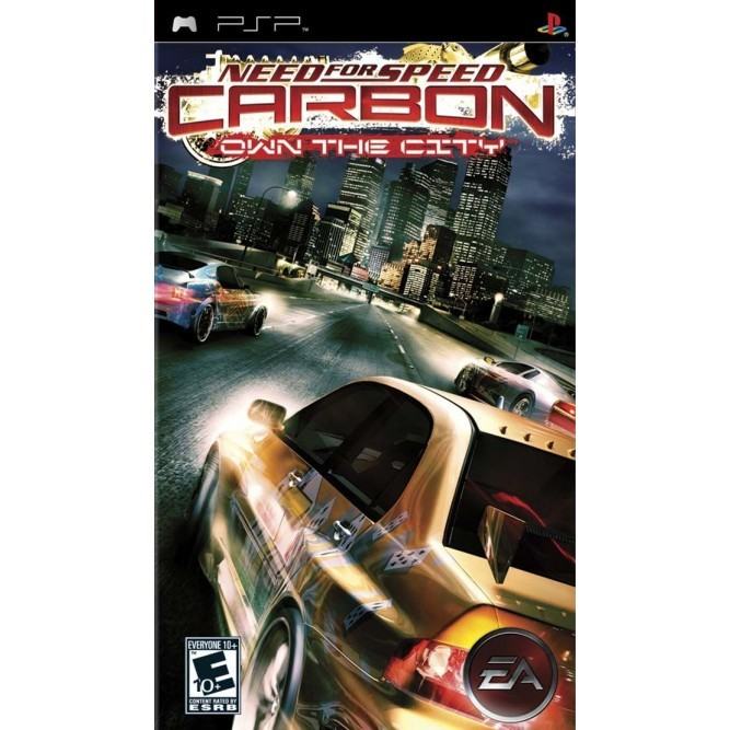 Игра Need for Speed Carbon - Own the City (PSP) б/у