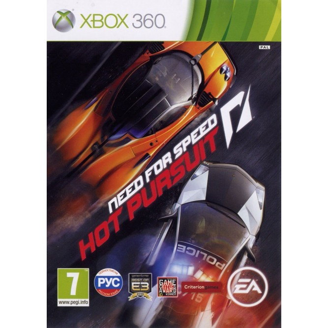Игра Need for Speed: Hot Pursuit (Xbox 360) б/у (rus)