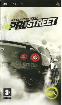 Игра Need for Speed: ProStreet (PSP) б/у (rus sub)