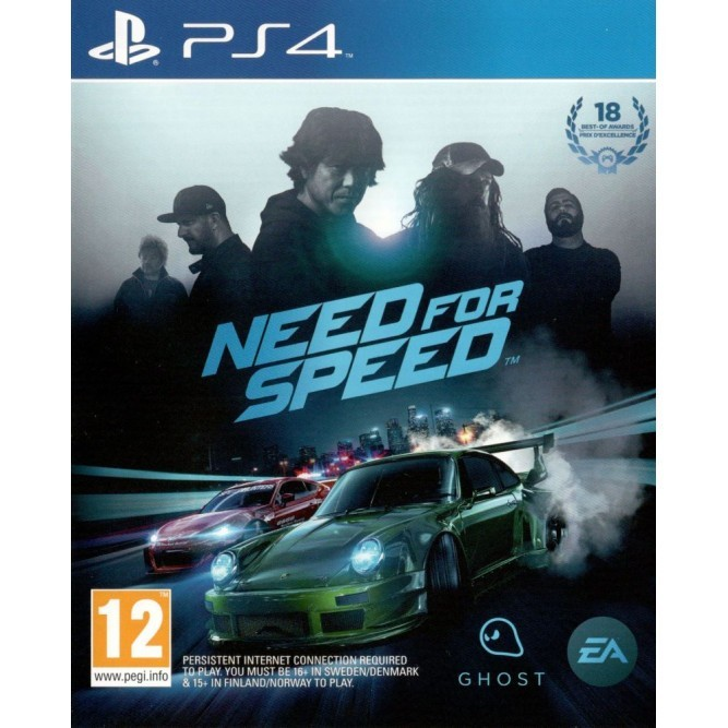 Игра Need for Speed (2015) (PS4) б/у