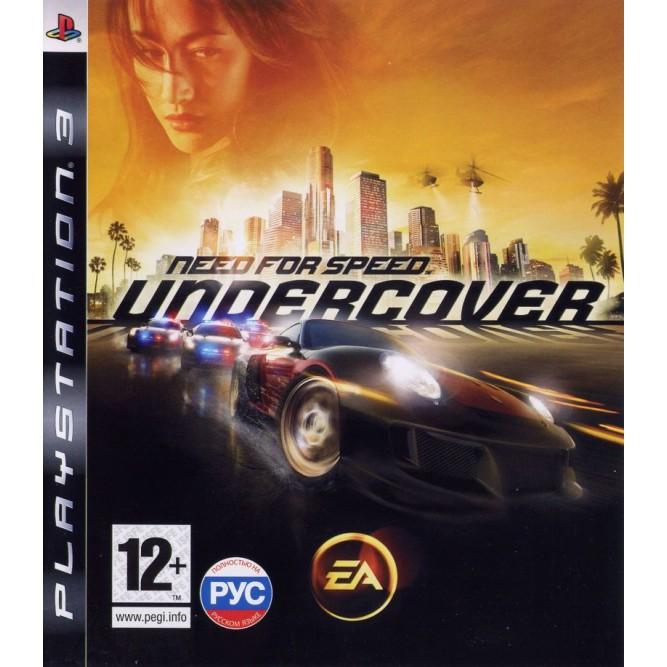 Игра Need For Speed Undercover (PS3) б/у
