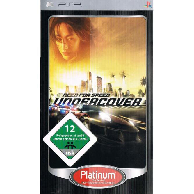 Игра Need for Speed: Undercover (PSP) б/у