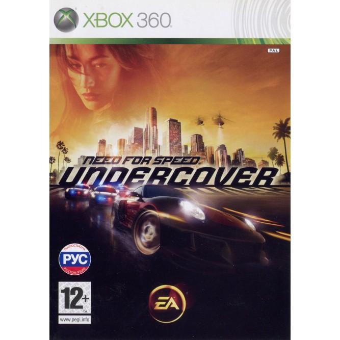 Игра Need For Speed: Undercover (Xbox 360) б/у