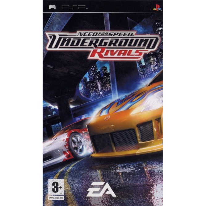 Игра Need for Speed: Underground - Rivals (PSP) б/у
