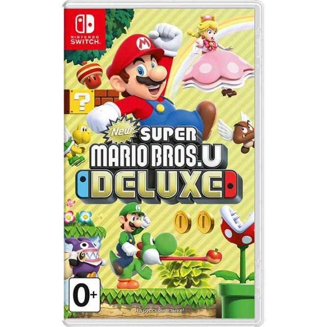Игра New Super Mario Bros. U Deluxe (Nintendo Switch) (rus)