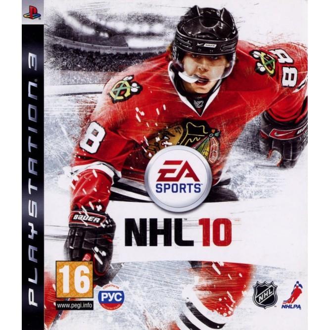 Игра NHL 10 (PS3) б/у