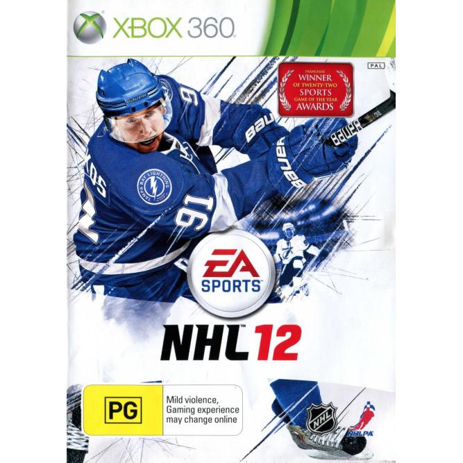 Игра NHL 12 (Xbox 360) б/у