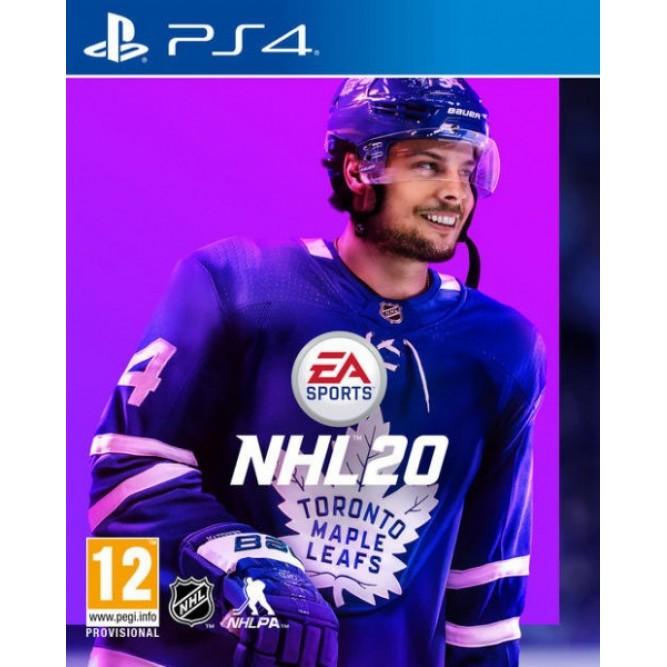 Игра NHL 20 (PS4) б/у (rus sub)
