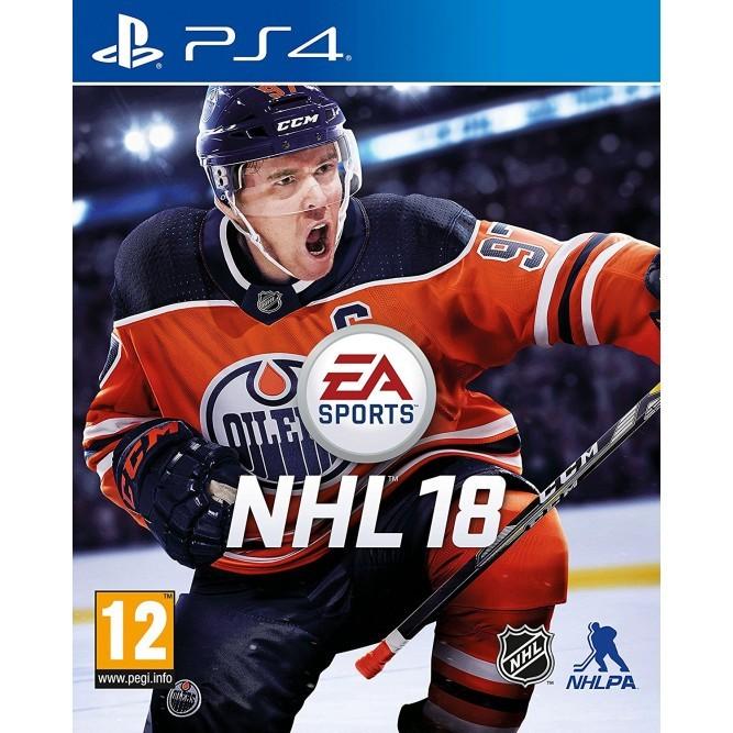 Игра NHL 18 (PS4) б/у (rus sub)