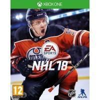 Игра NHL 18 (Xbox One) б/у (rus sub)