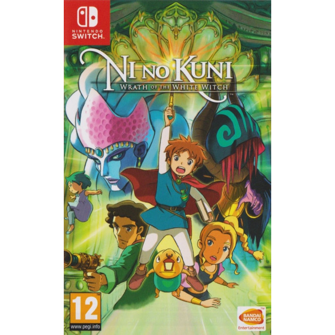 Игра Ni no Kuni: Wrath of the White Witch - Remastered (Nintendo Switch) (eng)