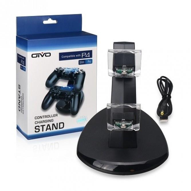 Зарядная станция Oivo PS4 Charging Stand Dual Controller