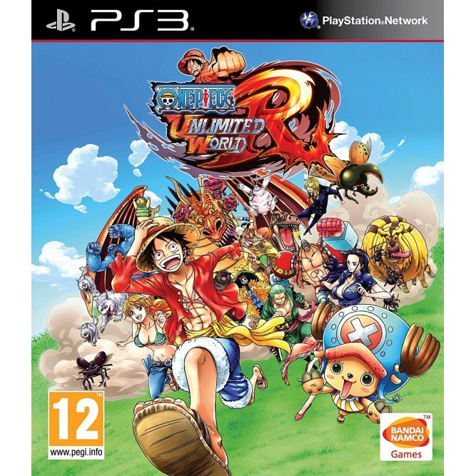 Игра One Piece: Unlimited World Red (PS3) б/у