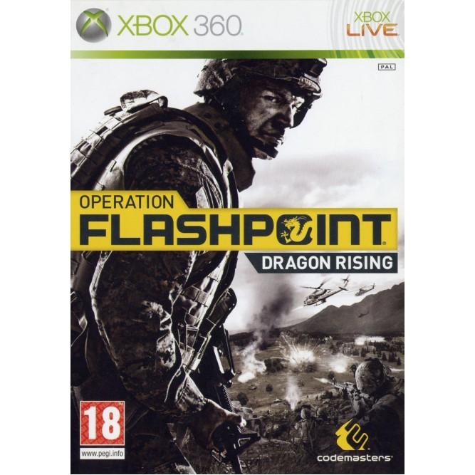 Игра Operation Flashpoint: Dragon Rising (Xbox 360) б/у