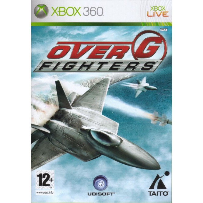 Игра Over G Fighters (Xbox 360) (eng) б/у