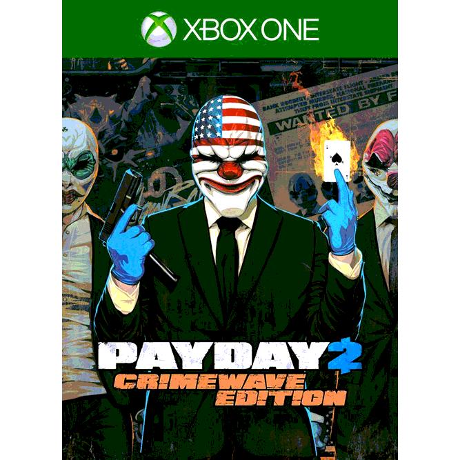Игра Payday 2: Crimewave Edition (Xbox One) б/у