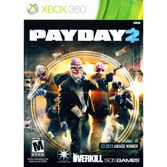 Игра PayDay 2 (Xbox 360) б/у (eng)