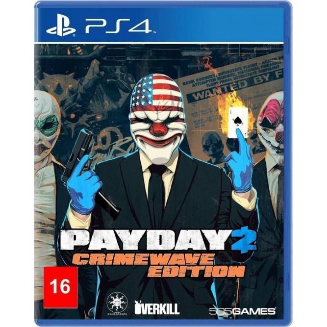 Игра PayDay 2: Crimewave Edition (PS4) б/у