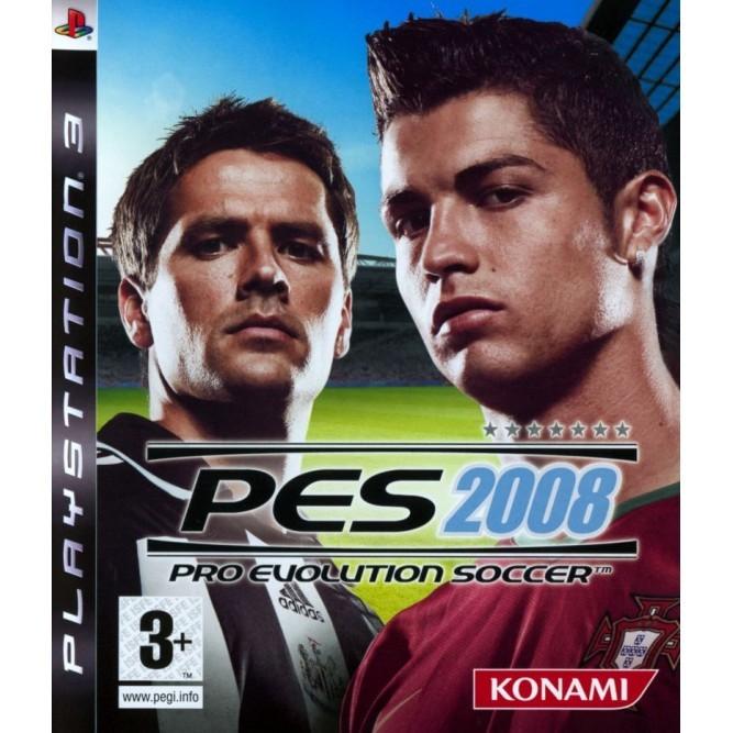 Игра PES 2008: Pro Evolution Soccer (PS3)