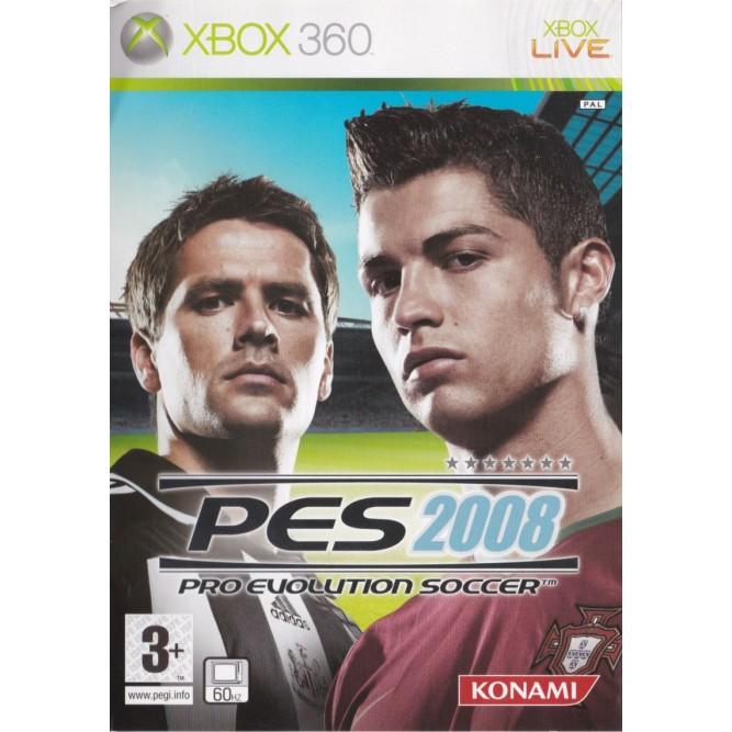 Игра PES 2008: Pro Evolution Soccer (Xbox 360) б/у