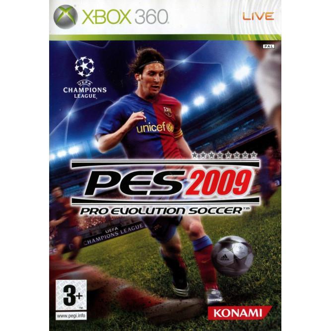 Игра Pro Evolution Soccer 2009 (PES 2009) (Xbox 360) б/у