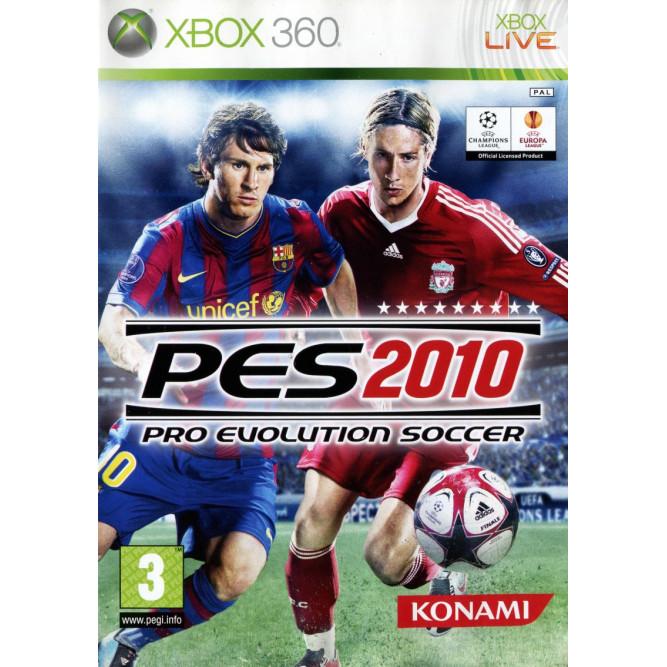 Игра Pro Evolution Soccer 2010 (PES 2010) (Xbox 360)