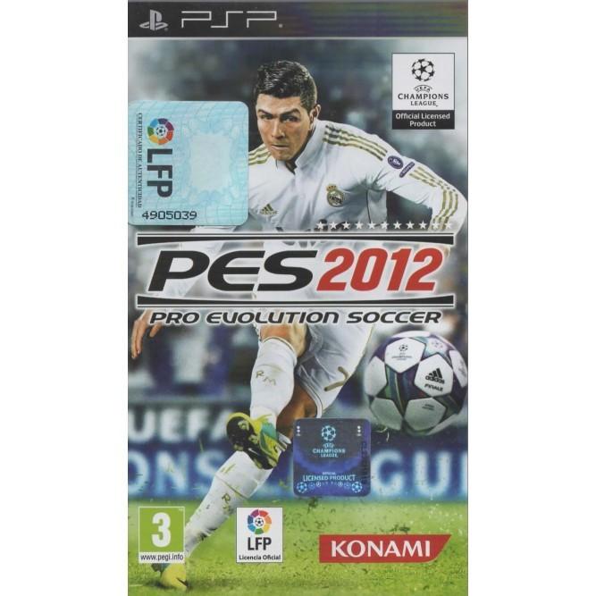 Игра Pro Evolution Soccer 2012 (PES 2012) (PSP) б/у