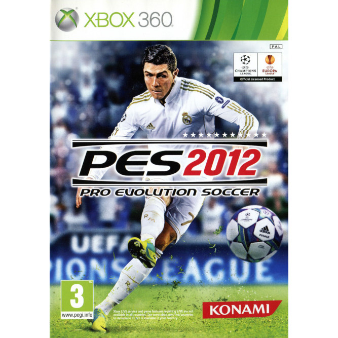 Игра Pro Evolution Soccer 2012 (PES 2012) (Xbox 360) (eng)