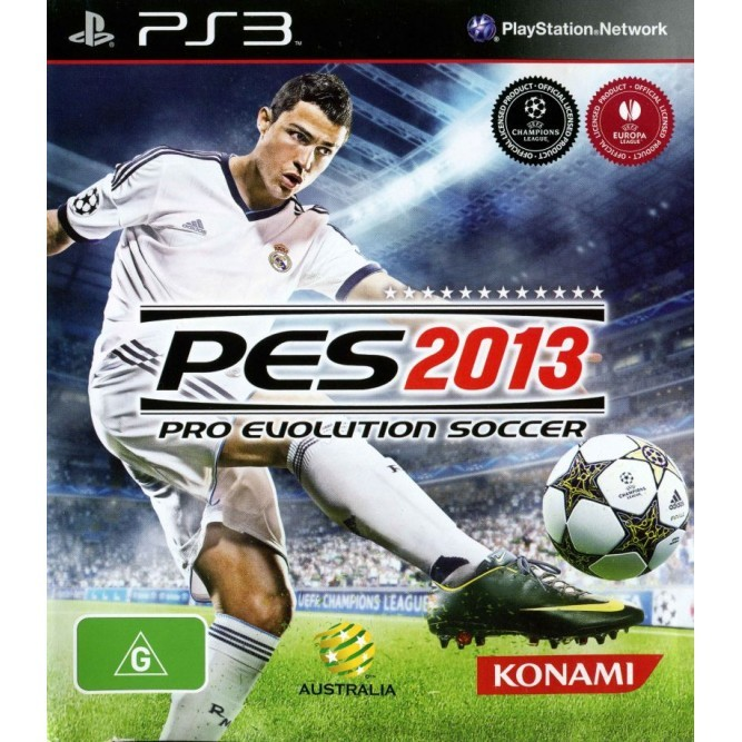 Игра Pro Evolution Soccer 2013 (PES 2013) (PS3) б/у