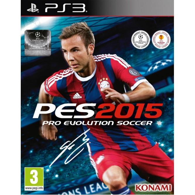 Игра PES 2015 (Pro Evolution Soccer) (PS3) б/у (rus sub)