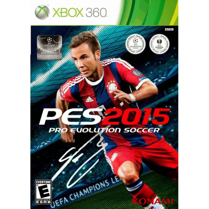 Игра Pro Evolution Soccer (PES 2015) (Xbox 360) б/у