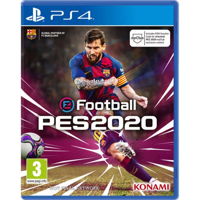 Игра Pro Evolution Soccer 2020 (PES 2020) (PS4) (rus sub) б/у