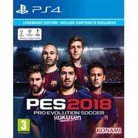 Игра Pro Evolution Soccer 2018 (PES) (PS4) (rus)