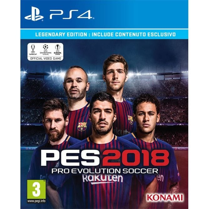 Игра Pro Evolution Soccer (PES) 2018 (PS4) б/у