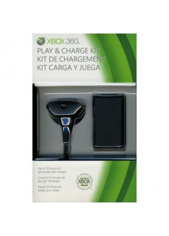 Зарядное устройство Play and Charge Kit (Xbox 360)