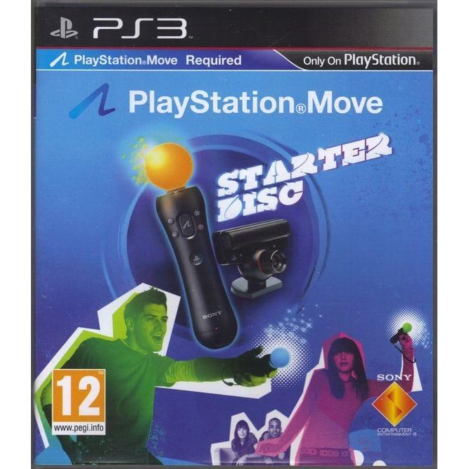 Игра Move Starter Disk (PS3) б/у