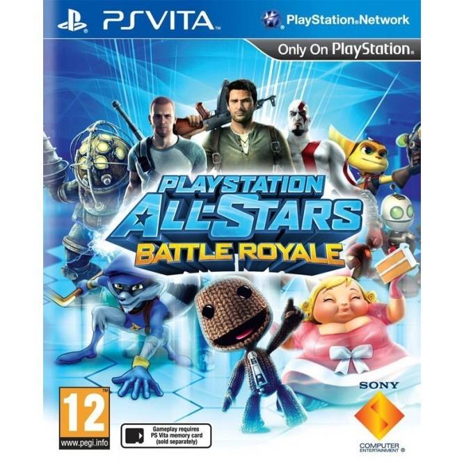 Игра Звезды PlayStation: Битва сильнейших (PS Vita) б/у
