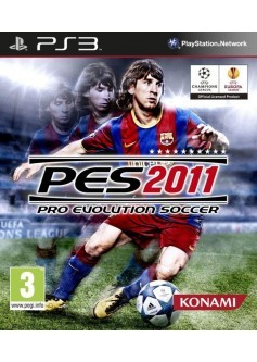 Игра Pro Evolution Soccer 2011 (PES) (PS3) б/у